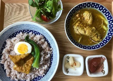 Samgety curry